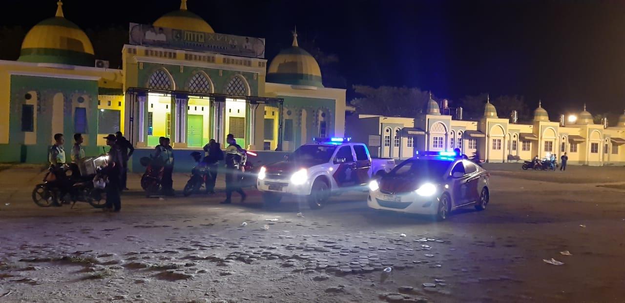 Kapolres Menginstruksikan Satuan Satlantas Patroli Blue Light Daerah Rawan Balap Liar