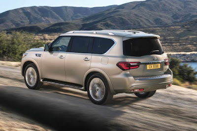 Luxury 2018 Infiniti QX80 debuts in Dubai