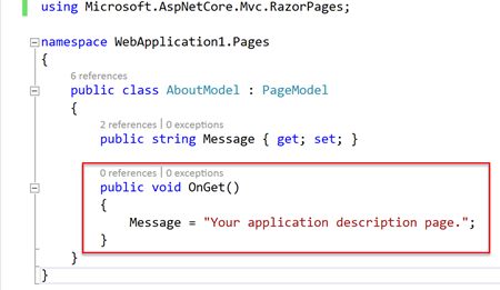 Getting Started with ASP NET Core 2 0 Razor Pages - TechNet Articles