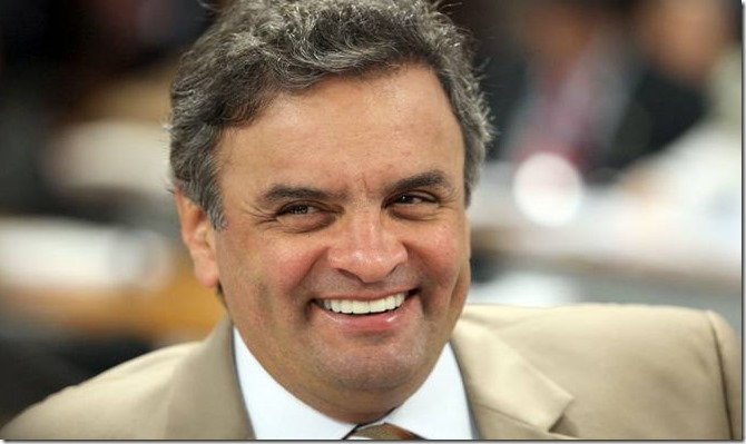 Aécio Neves invisível
