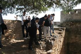Itinerario de visita a los recintos de la alcazaba andalusí de Denia. A cargo de Josep A. Gisbert, arqueólogo.