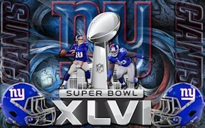 New York Giants Super Bowl Wallpaper