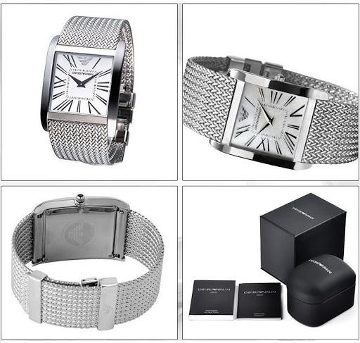 đồng hồ amani mặt vuông