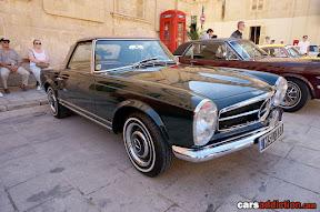 Mercedes convertible classic car