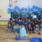 Blue Colour Day   (Nursery, R.C. Vyas) 13.07.2017