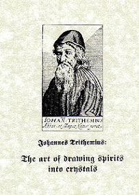 Cover of Johannes Trithemius's Book The Art Of Drawing Spirits Into Crystals