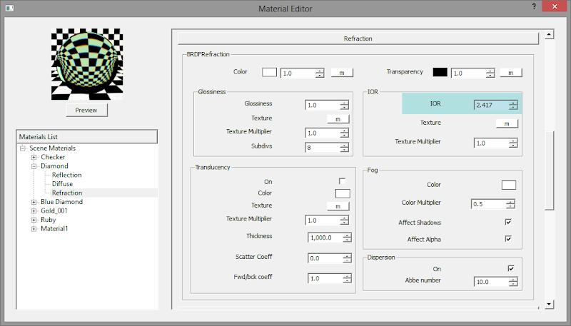 material - V-Ray Material Guide: การกำหนดค่า Refraction IOR ของวัตถุรูปแบบต่างๆ Refract_type_16