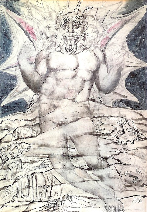 Lucifer By William Blake, William Blake