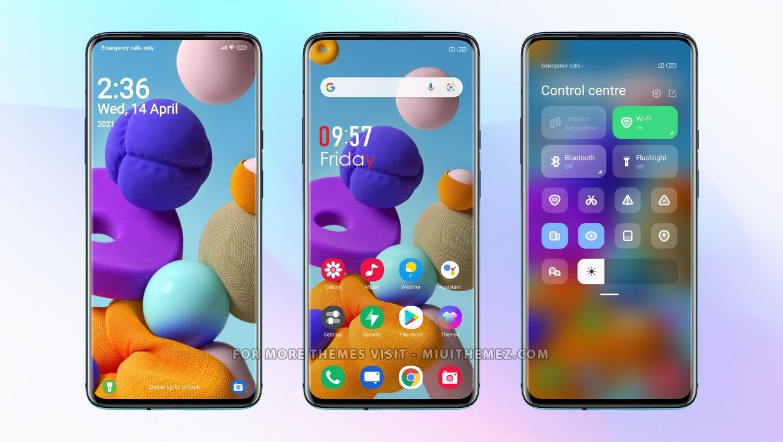 Samsung s21 v12.5 MIUI Theme