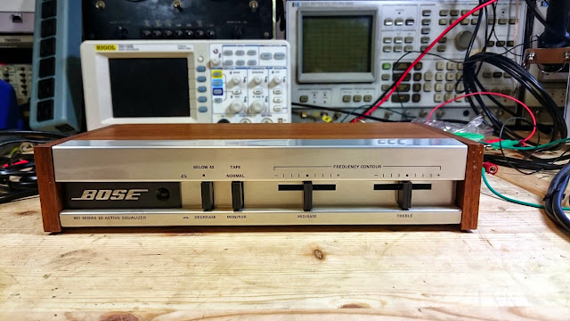 Bose 901 Series III Equalizer #181986 Repaired   RETROVOLTAGE