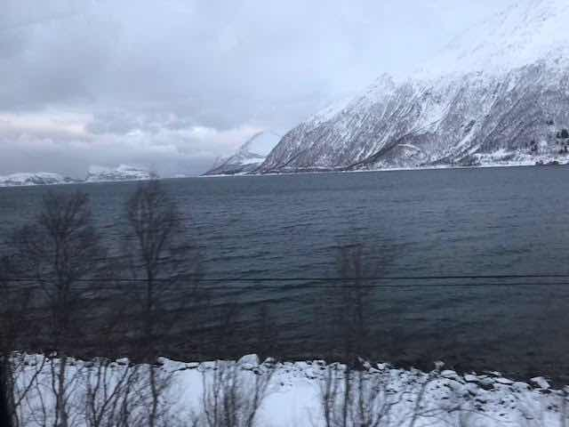Traveling from Tromsø to Sommaroy with scenic fjords (Source: Palmia Observatory)