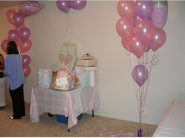 Decoración para el Baby shower | Solountip.