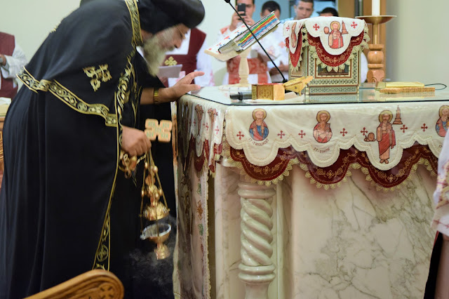 His Holiness Pope Tawadros II visit to St. Mark LA - DSC_0223.JPG