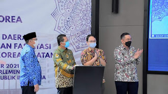 Wabup Aep Hadiri Dialog Indonesia-Korea Terkait Kerjasama UMKM Masuk Pasar Korea