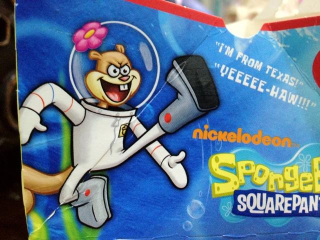 Spongebob Sandy: Yee Haw