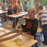 Groep 5-6 maakt een molen