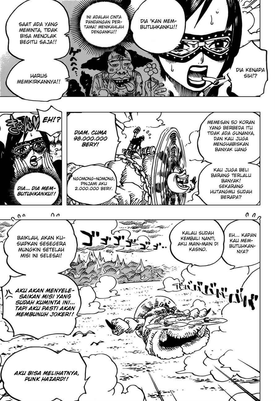 Komik one piece 692 page 14