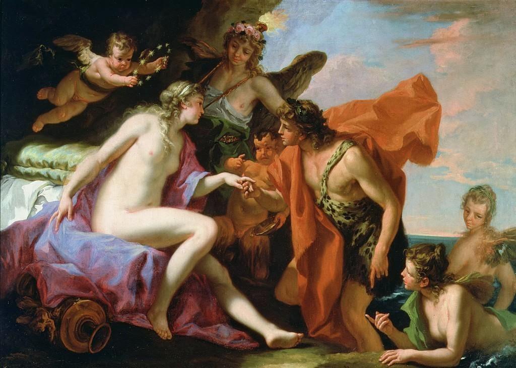 Sebastiano Ricci - Bacchus and Ariadne