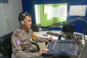 On Air di Radio Suara As' Adiyah Sengkang, Kasat Lantas Polres Wajo Sosialisasi Operasi Ketupat Tahun 2021
