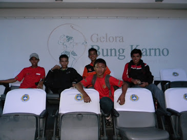 with all Indonesian supporter