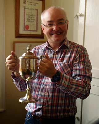 Paul Evans of Morris Marshall and Poole, Newtown who has been named Linesman of the Year