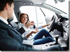 Una donna al volante