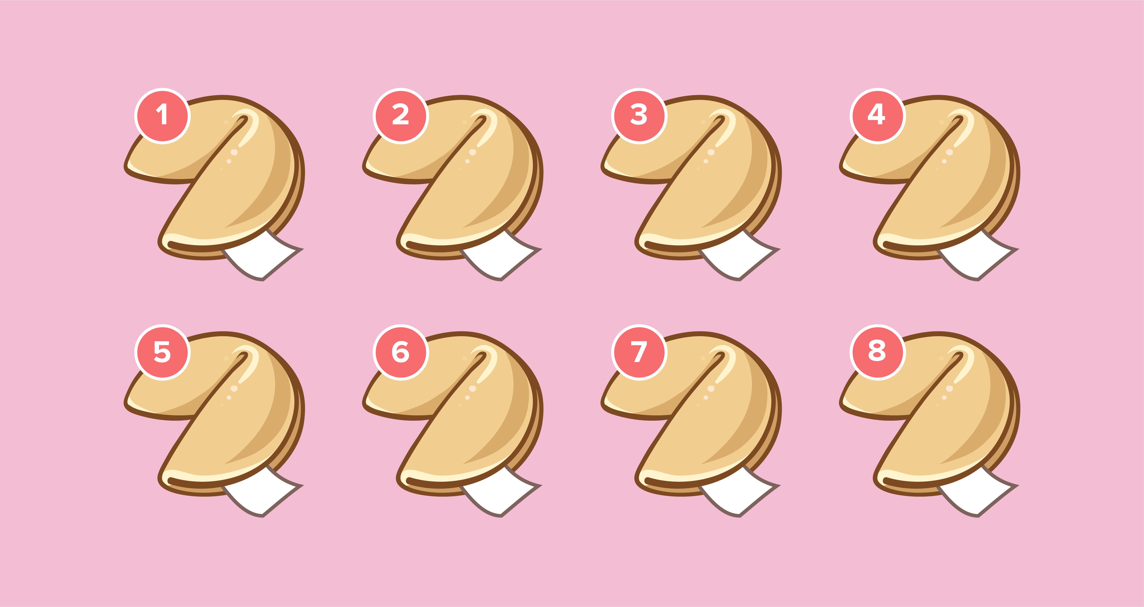 ¡Elige la galleta y descubre que te depara en el amor! 🥠💗 2