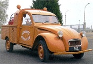 Citroën 1968 2 CV pick-up sécurité aéro-club