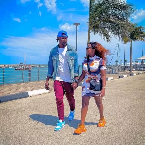 Nadia Mukami and Utembe CEO Arrow Bwoy photo
