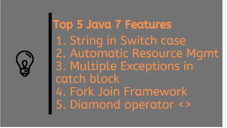 5 Essential JDK 7 Features for Java Programmers