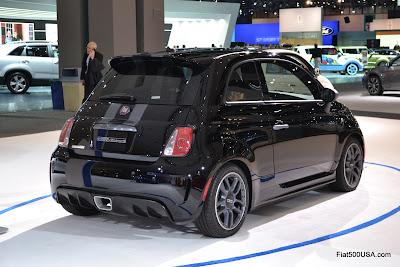 Fiat 500 2011 Mopar show car