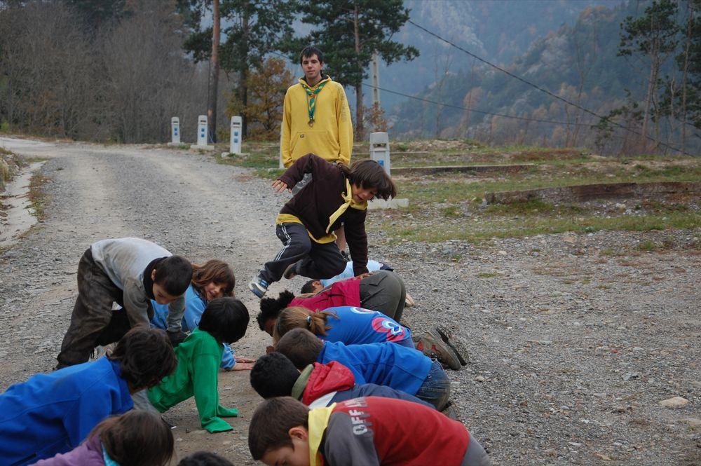 Sortida Castors i Llops a la Roca del Secut 2010 - DSC_0798.JPG
