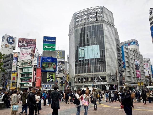 渋谷スクランブル交差点のQフロント