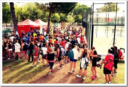 El Circuito de Pádel Estrella Damm celebra el 40 Aniversario de El Estudiante con 280 jugadores.