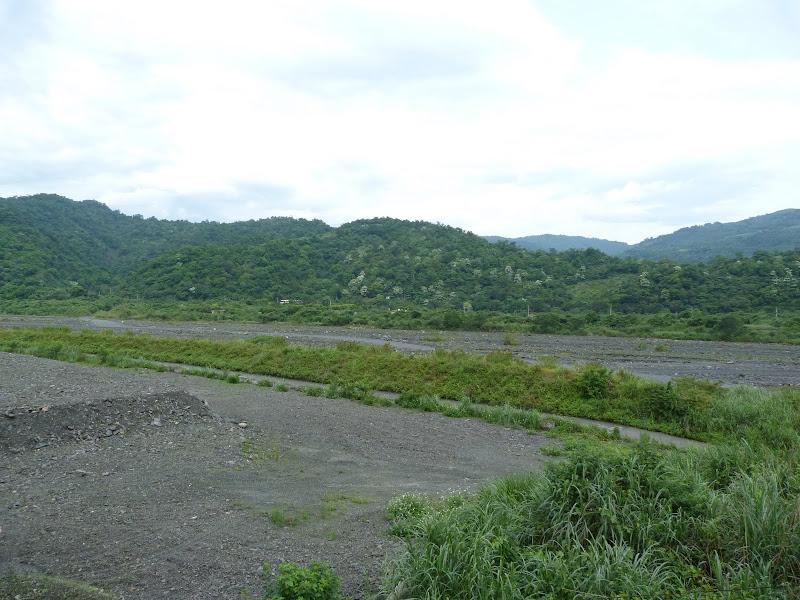 Rivière asséchée, mais pas en cas de typhon...