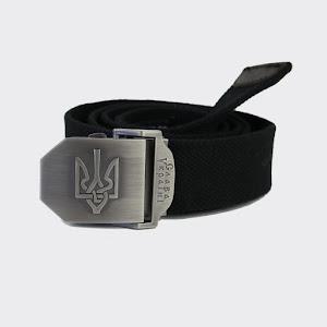 Ремінь з Гербом України - чорний: H8058-01