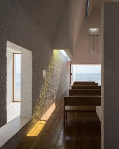 futuristic chapel-on-a-chinese-beach