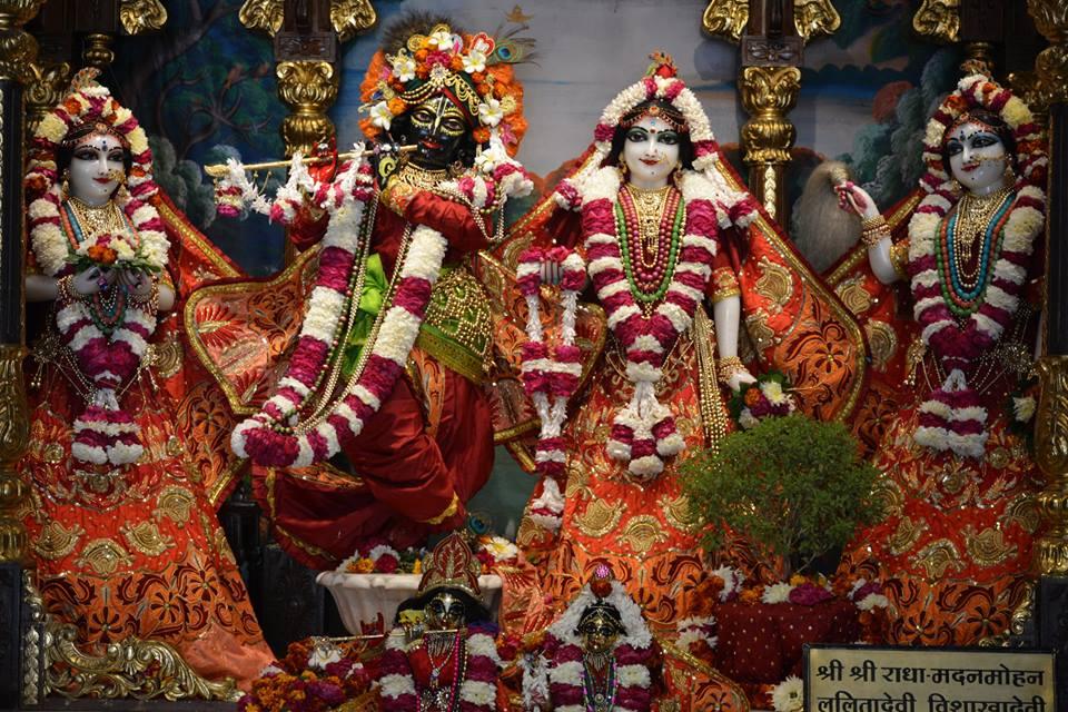 ISKCON Ujjain Deity Darshan 10 Jan 2017 (1)