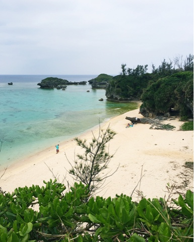 Maeda Beach is one of the nicest on mainland Okinawa