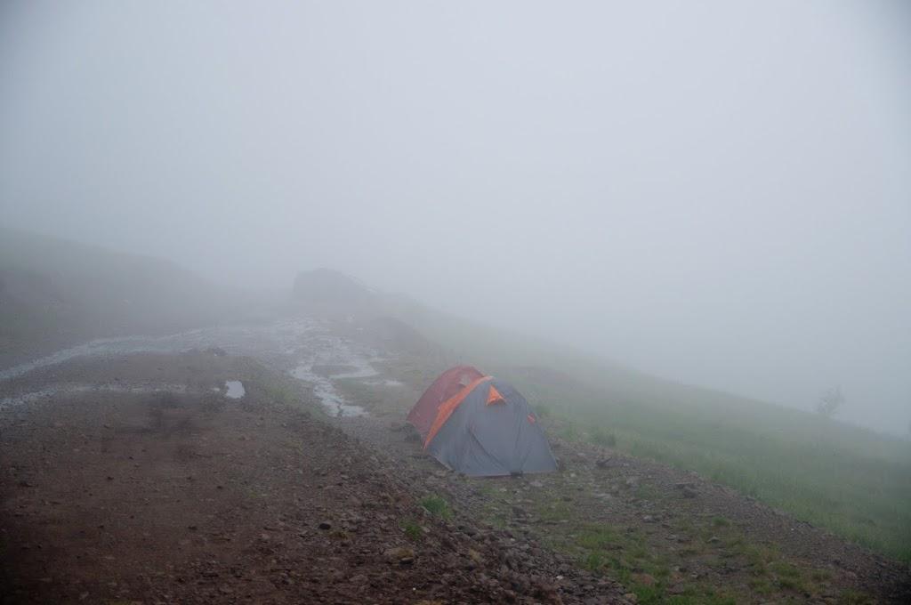 Где поставить палатку на учуме?