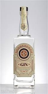 Logo for J Rieger Western Dry Gin