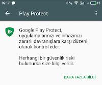 Google Play Protect Koruma Sistemi
