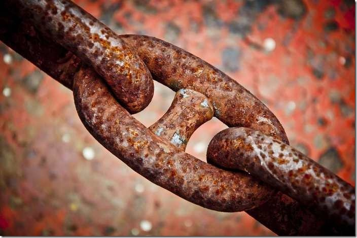 The islamic meaning of chain in dream.