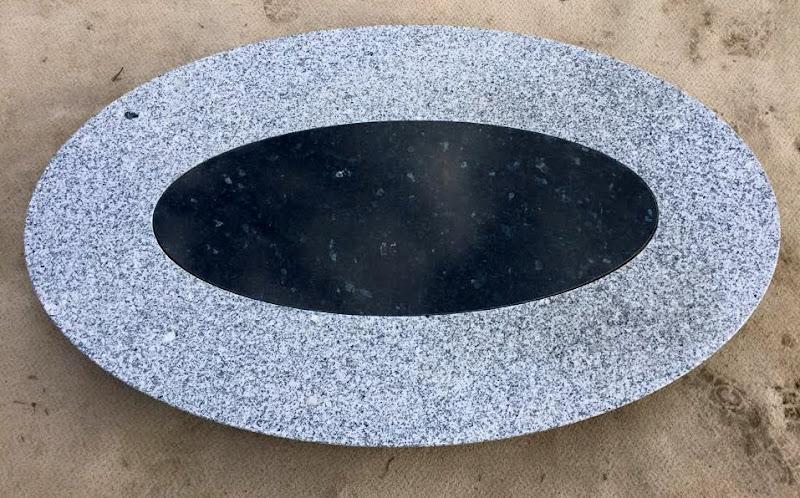 Couchtischplatte naturstein oval stein in stein for Marmor tischplatte oval