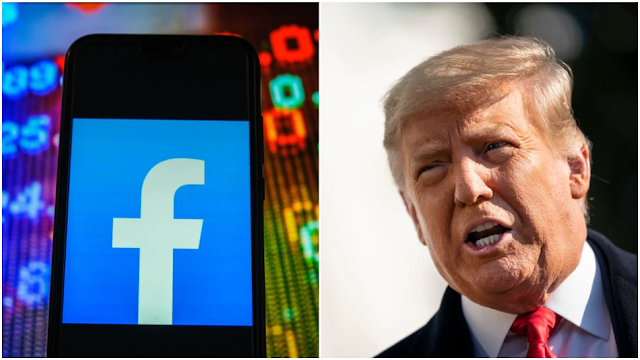 Facebook Suspended Trump's Account. Then He Gained Almost 150,000 'Likes.'