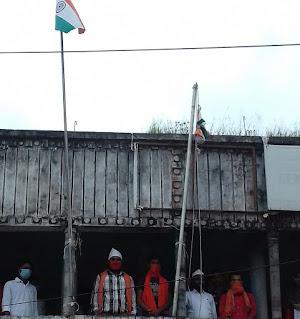सुपौल/ABVP कार्यालय में धूमधाम से मनाया गया स्वंत्रता दिवस
