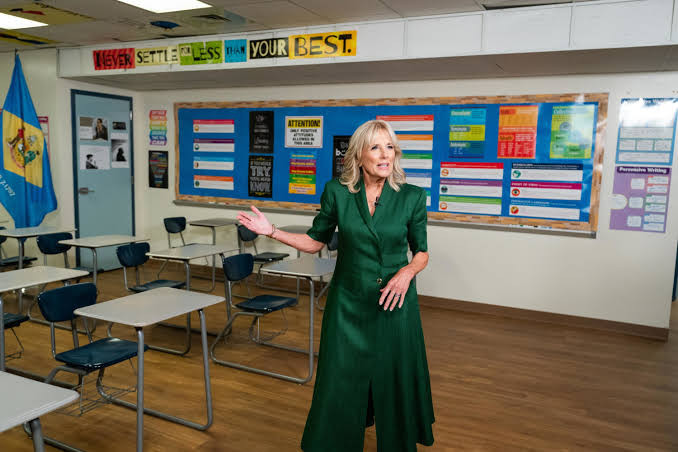 Jill Biden leaves White House to work full-time as a teacher, the first time a US first lady will get a full time job
