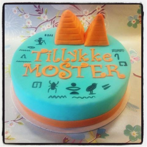 Tremendous Hollys Cakes Egyptian Birthday Cake Funny Birthday Cards Online Necthendildamsfinfo
