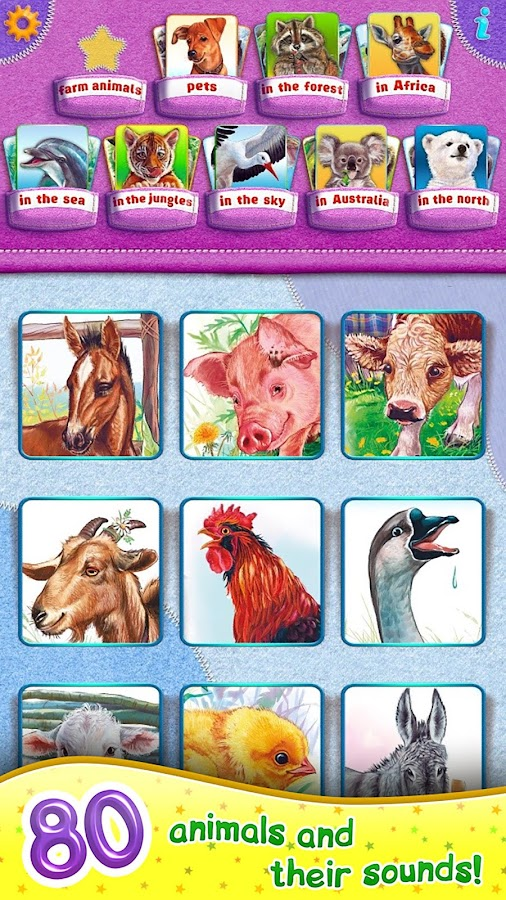 Animal Kingdom for kids! FULL- screenshot