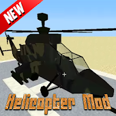 NEW Helicopter Mod For MCPE